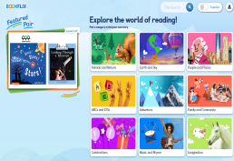 Bookflix screenshot